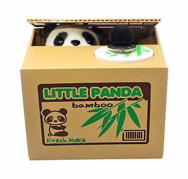 Hucha de oso panda