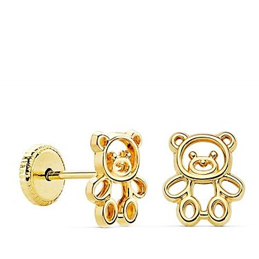 pendientes de osos
